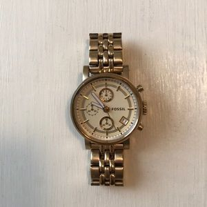 83 off accessories world map watch from courtneys closet on fossil watch sciox Choice Image